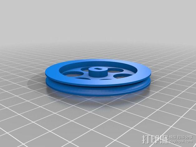 白板绘图机 3D模型  图6
