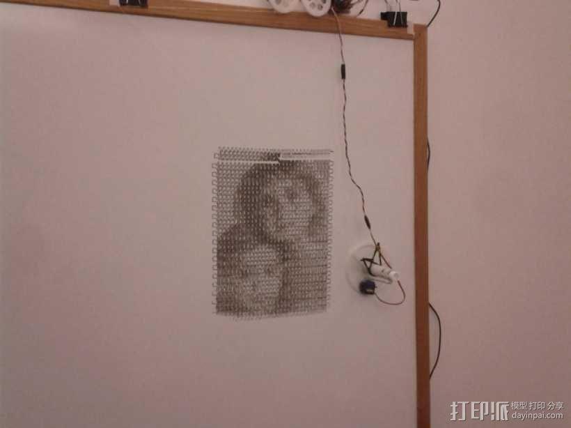 白板绘图机 3D模型  图9