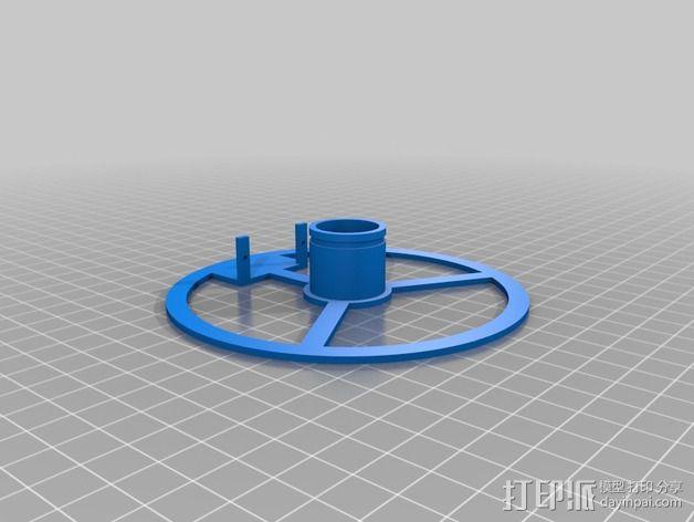 白板绘图机 3D模型  图7