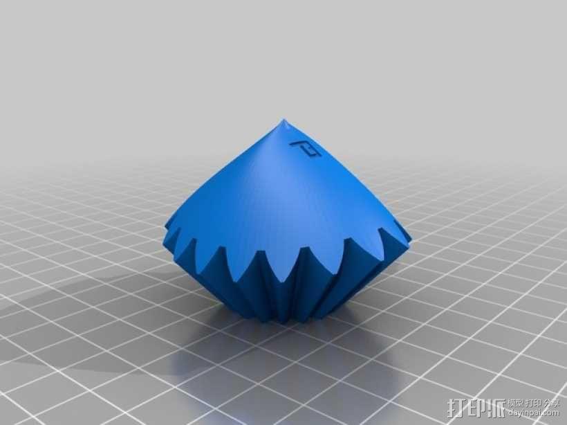齿轮心 3D模型  图10