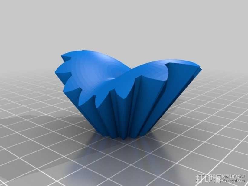 齿轮心 3D模型  图12