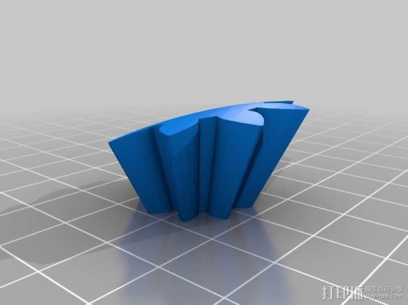 齿轮心 3D模型  图14