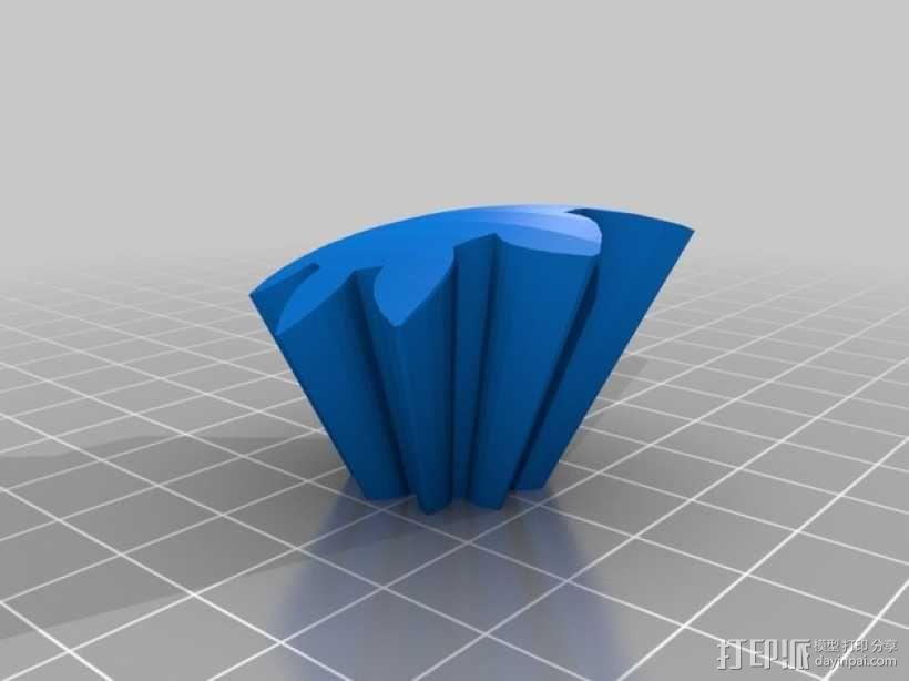 齿轮心 3D模型  图16