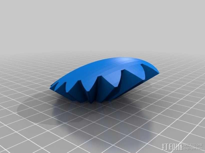 齿轮心 3D模型  图15