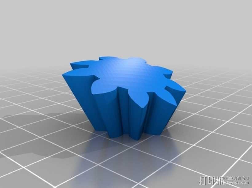 齿轮心 3D模型  图20