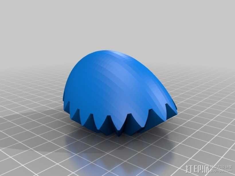 齿轮心 3D模型  图19