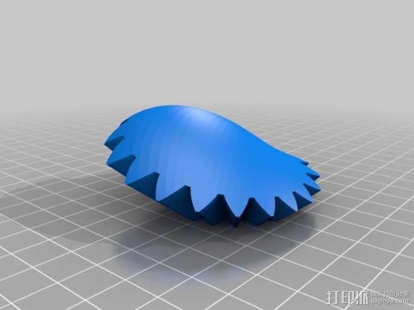 齿轮心 3D模型  图22