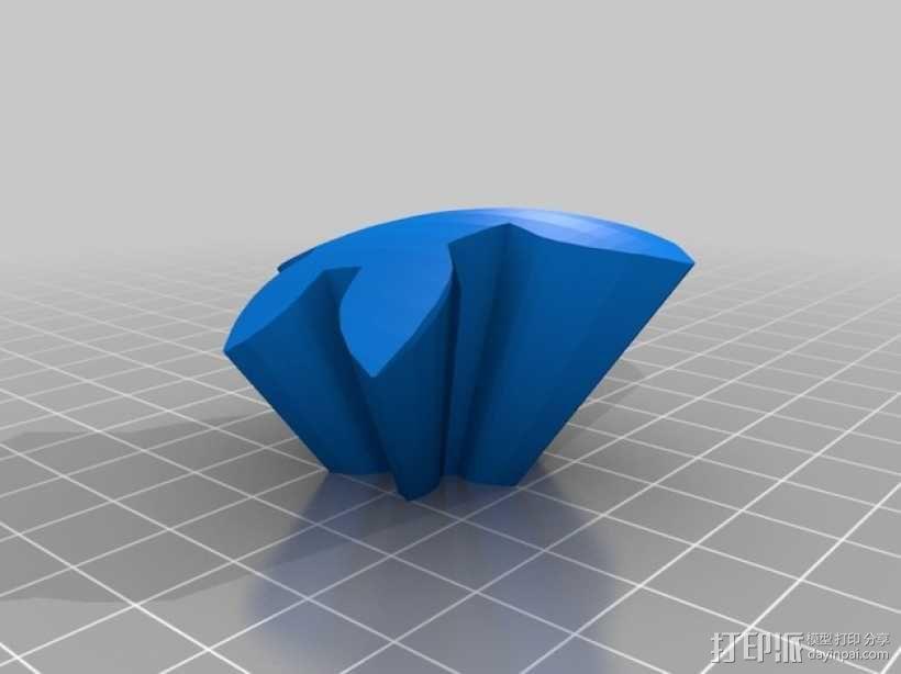 齿轮心 3D模型  图23