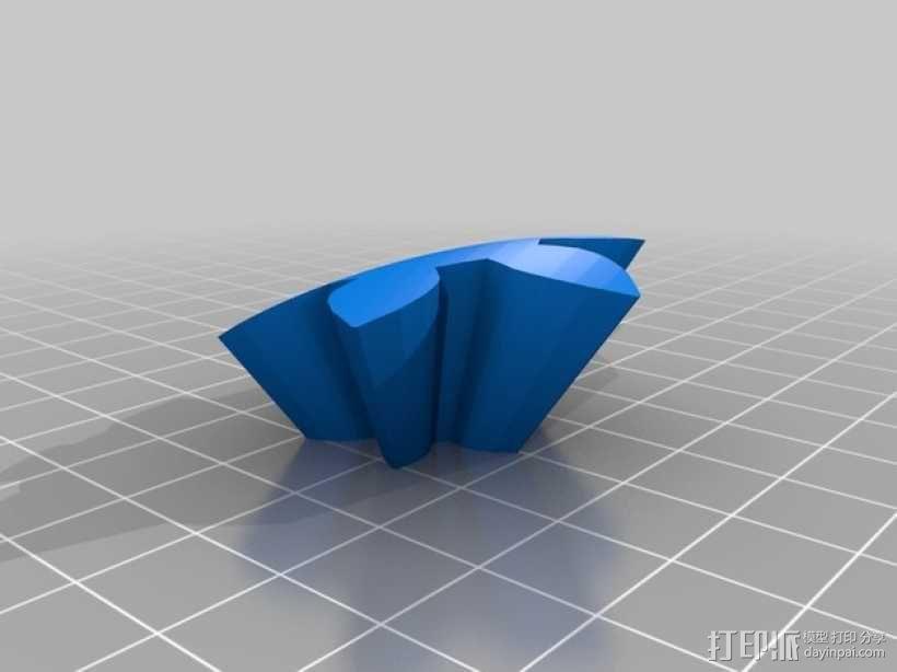 齿轮心 3D模型  图24