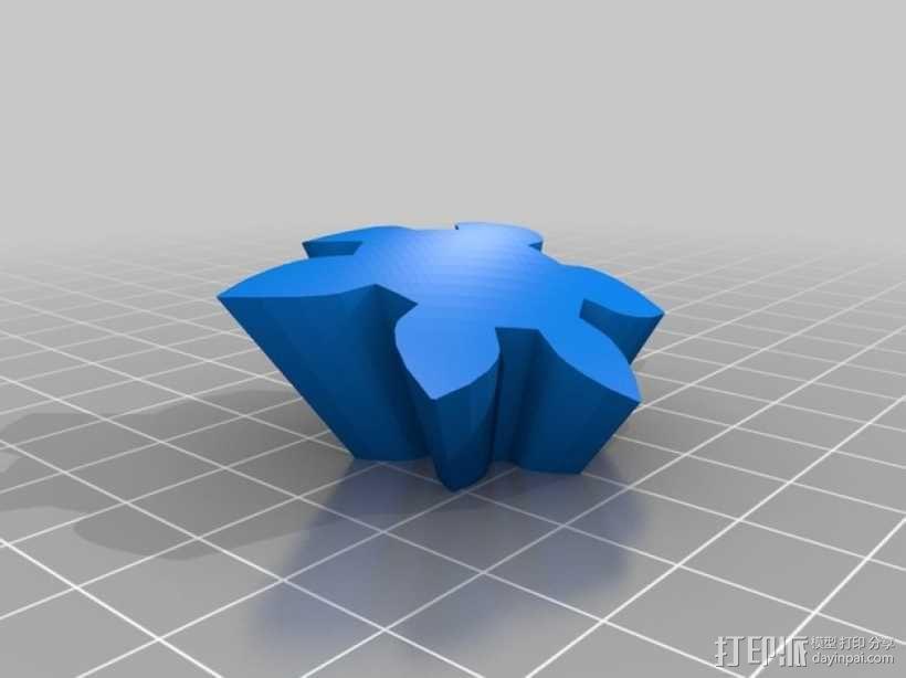齿轮心 3D模型  图26