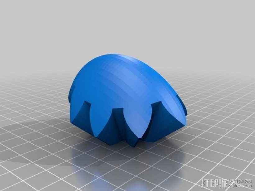 齿轮心 3D模型  图25