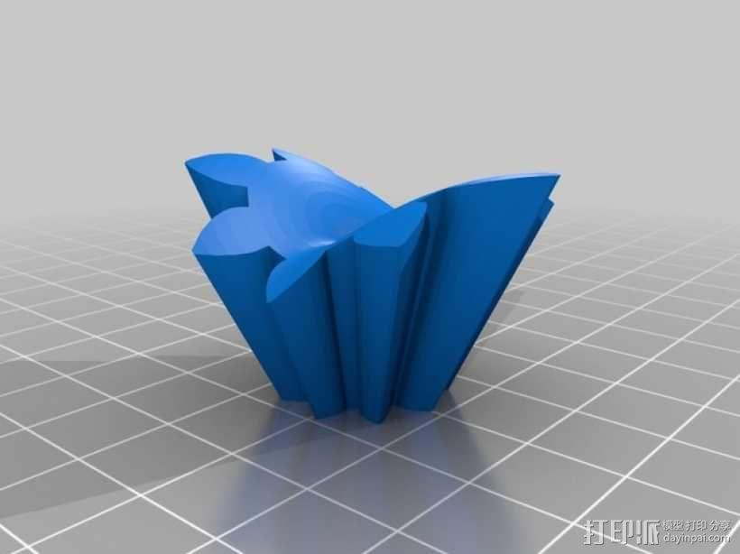 齿轮心 3D模型  图28