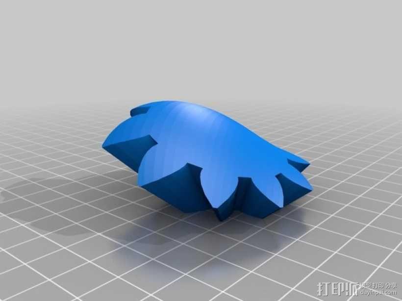 齿轮心 3D模型  图30