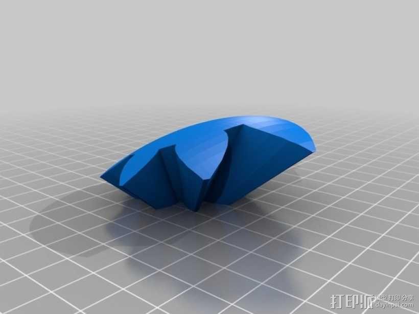 齿轮心 3D模型  图29