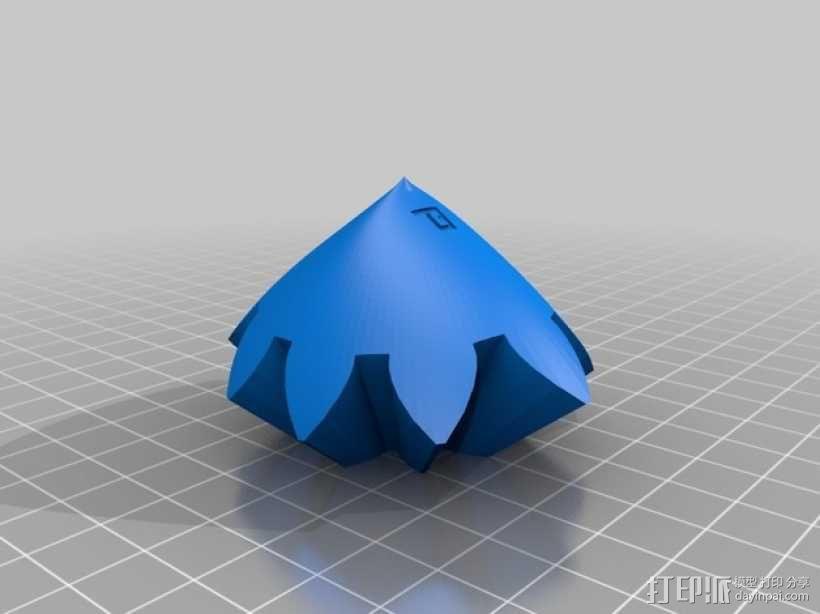 齿轮心 3D模型  图31