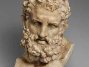 Herakles赫拉克利斯 大理石头像模型 3D模型