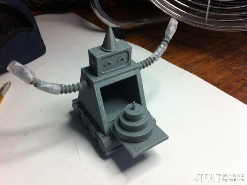 烤蛋糕的机器人 模型 3D模型  图1
