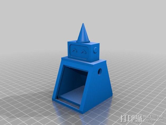 烤蛋糕的机器人 模型 3D模型  图3
