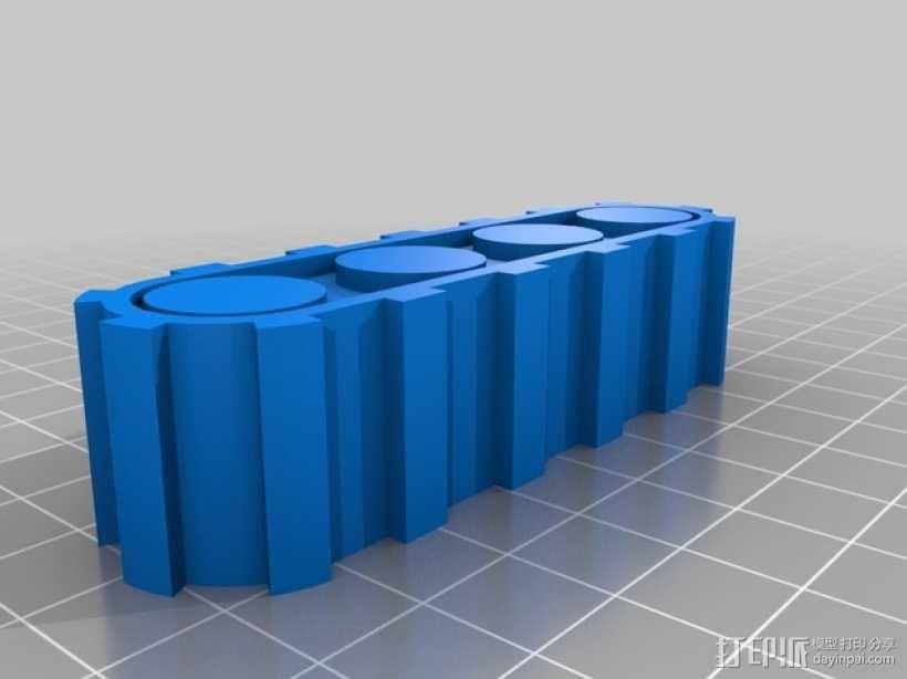 烤蛋糕的机器人 模型 3D模型  图4