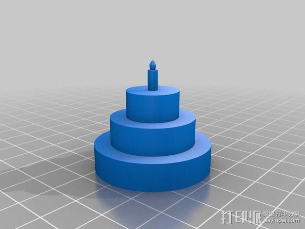 烤蛋糕的机器人 模型 3D模型  图5