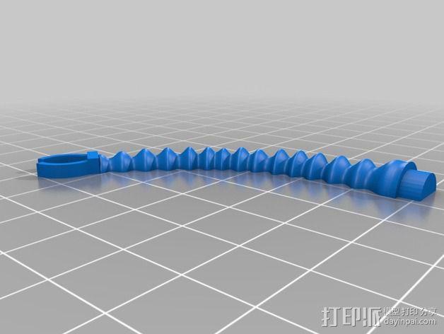 烤蛋糕的机器人 模型 3D模型  图6