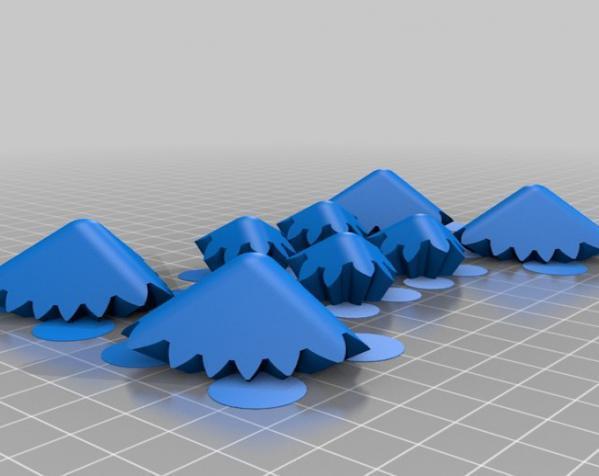 齿轮正方体 3D模型  图2