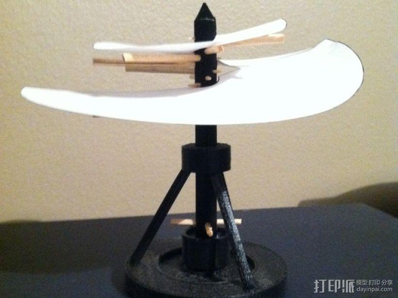 飞机螺旋桨 3D模型  图1