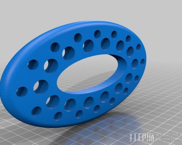 画笔架 3D模型  图3