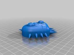 梅祖拉的假面 面具 3D模型