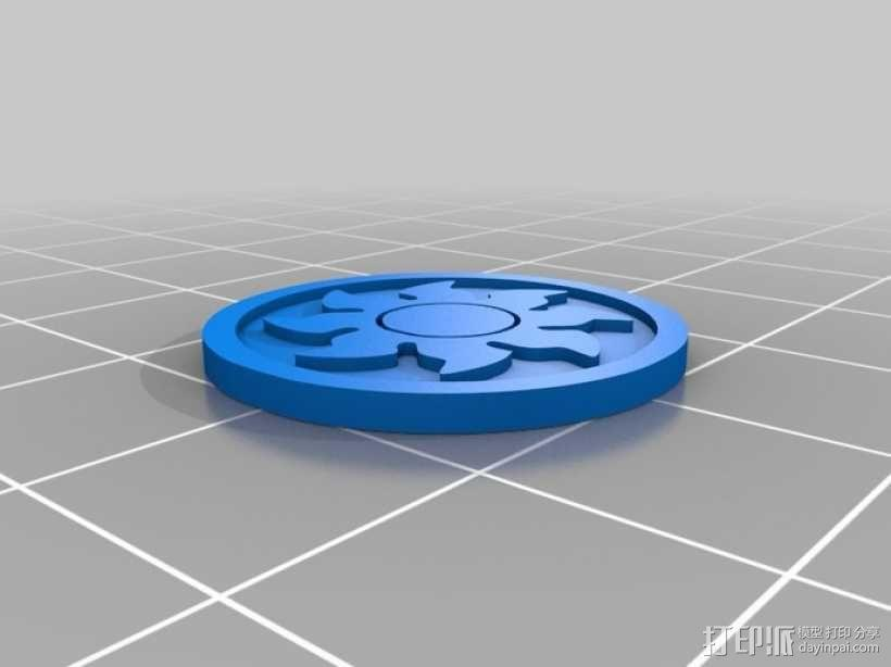 印章 3D模型  图1