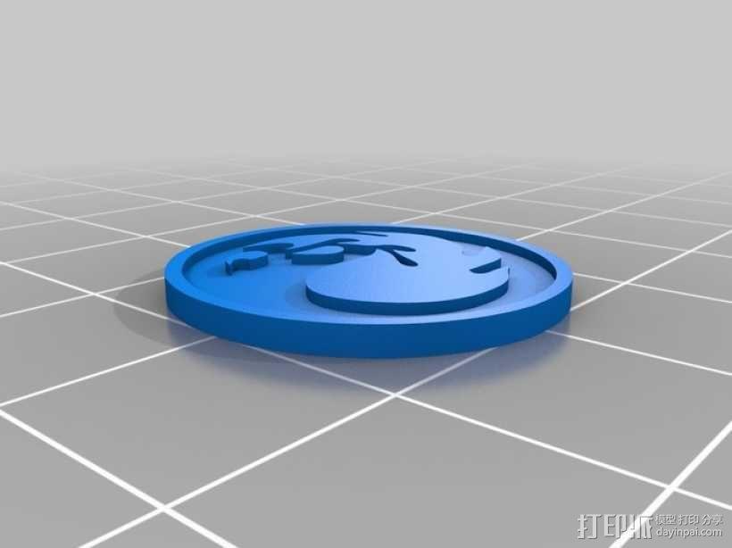 印章 3D模型  图2