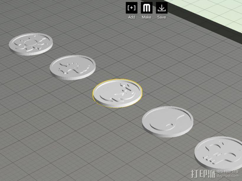 印章 3D模型  图6