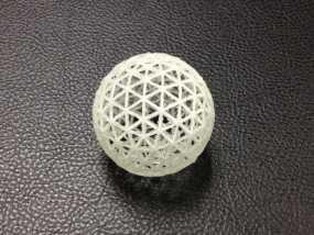 测地线球体 3D模型