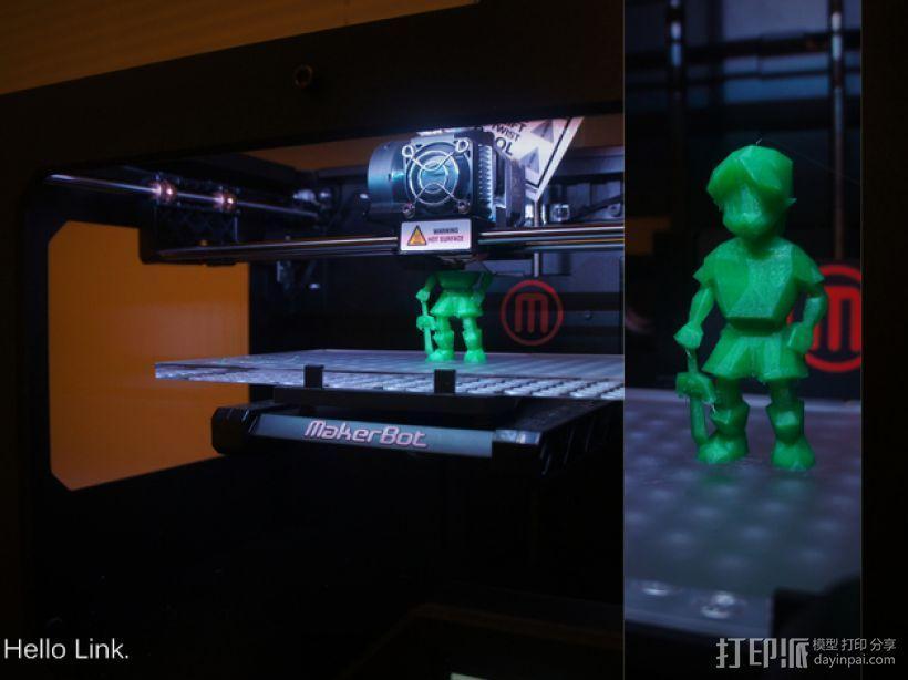 OoT游戏人物模型 3D模型  图1