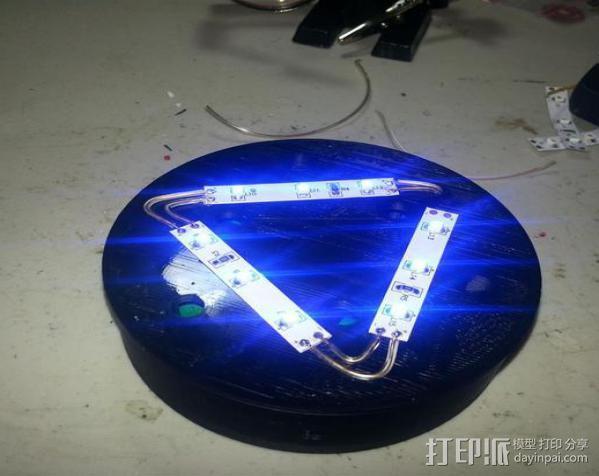 LED餐桌摆饰 3D模型  图6
