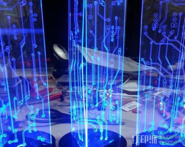 LED餐桌摆饰 3D模型  图4