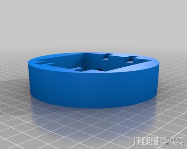 LED餐桌摆饰 3D模型  图8