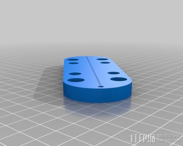 LED餐桌摆饰 3D模型  图13