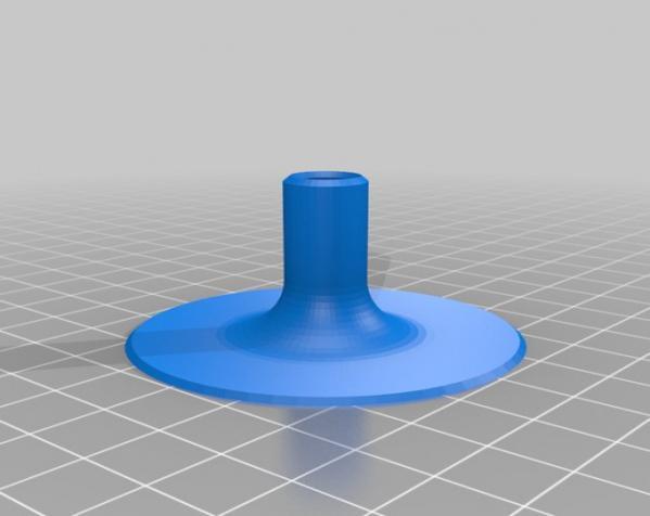 食人花笔筒 3D模型  图4