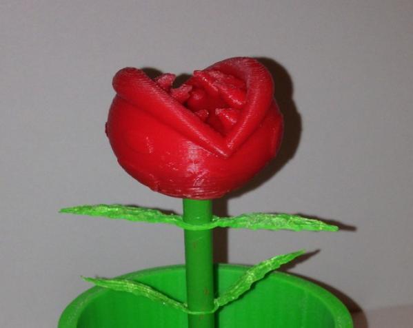 食人花笔筒 3D模型  图7