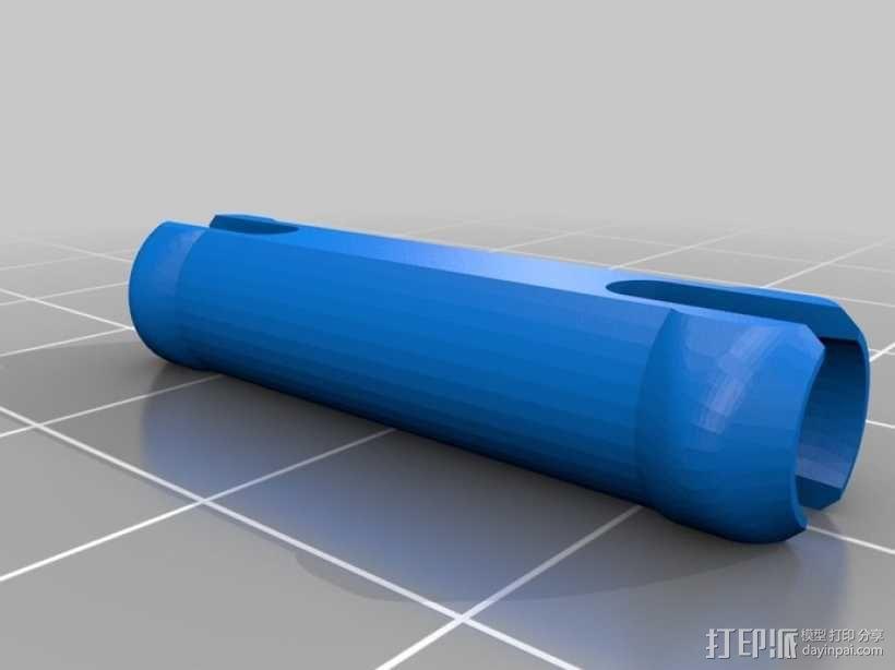 齿轮正方体 3D模型  图3