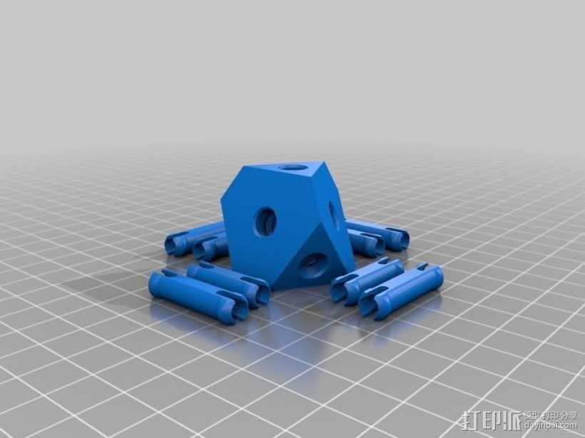齿轮正方体 3D模型  图6