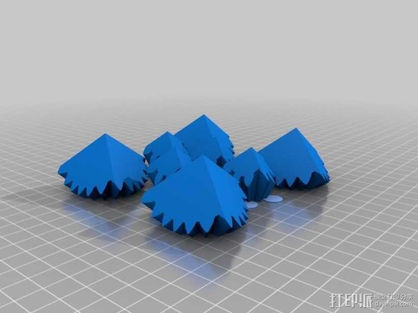 齿轮正方体 3D模型  图5