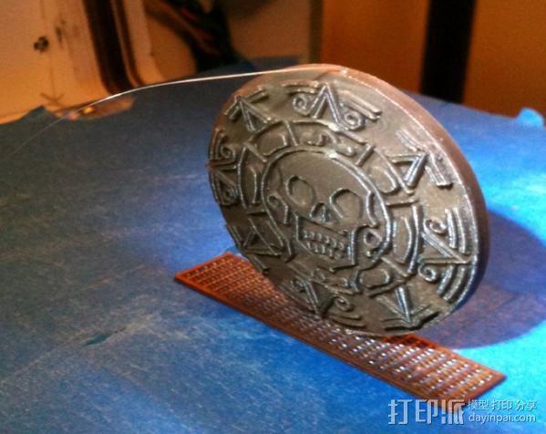 海盗 硬币 3D模型  图2