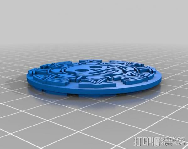 海盗 硬币 3D模型  图5