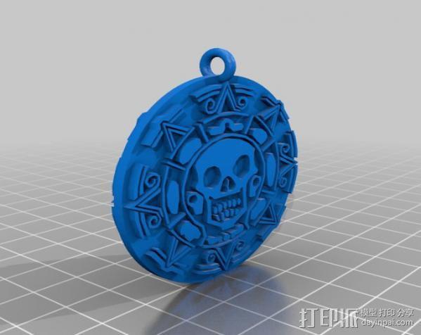 海盗 硬币 3D模型  图8