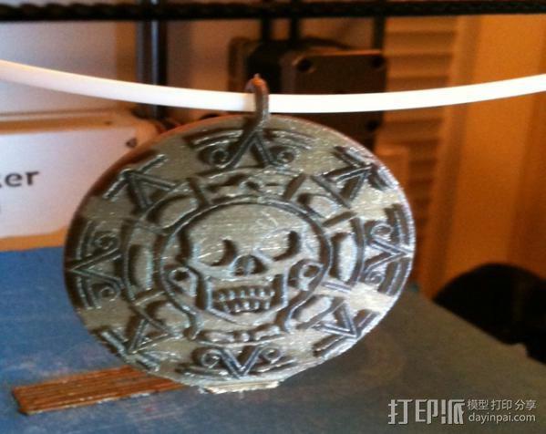 海盗 硬币 3D模型  图7