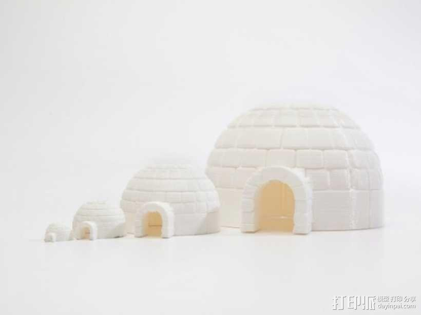 Igloo冰屋 3D模型  图2
