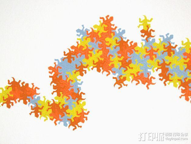 埃舍尔蜥蜴 3D模型  图8
