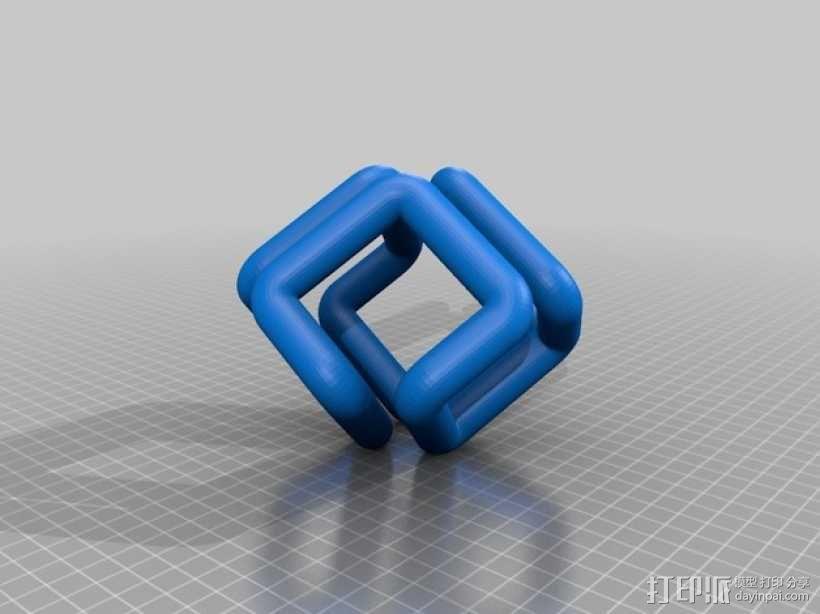SGI硅谷图形公司 标志 3D模型  图2